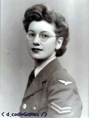 Joan Clarke - dcodinGames